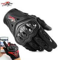 Touchscreen Motorcycle Motorbike Motocross Racing Riding Full Finger Gloves New
