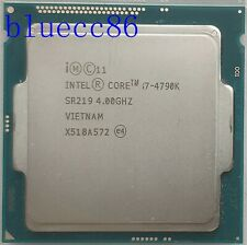 Intel Core i7-4790K 4.00 GHz Quad-Core LGA1150 SR219 CPU Processor
