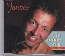 Jannes-Ga Maar Weg cd maxi single