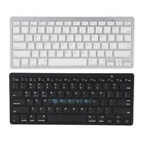 Slim Wireless Bluetooth 3.0 Keyboard For Apple iPad 2 3 4 MAC Macbook Laptop PC