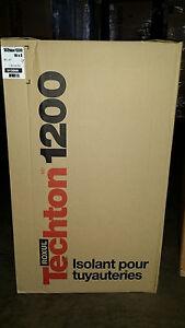 "Roxul Techton 1200 Pipe Insulation  16""x3""  3.280 Linear ft"