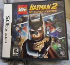 LEGO Batman 2: DC Super Heroes (Nintendo DS, 2012) Complete CIB