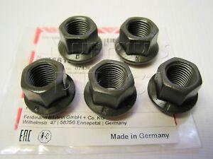 Set of 5 OE Quality Wheel Nuts VW T25 Transporter Camper Rear 80-92 T2 F+R 73-79