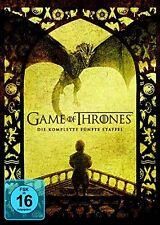 GAME OF THRONES DIE KOMPLETTE 5. STAFFEL DVD DEUTSCH