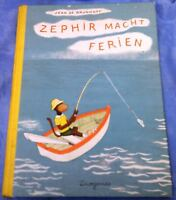 Jean De Brunhoff: Zephir Macht Ferien Hardback 1978 in German