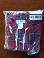 NEW Boys Size 14 FUNTASIA TOO Tartan Red Plaid Shirt - 100% Cotton, Long Sleeve