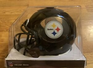 NFL Steelers Football Helmet Bank - Forever Collectables 8 Inch - New In Package