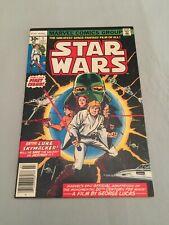 Marvel Comics STAR WARS #1 1977 Chaykin art Bronze Age Movie Adaptation FN/VF