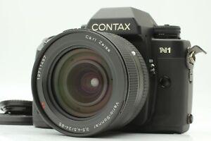 *NEAR MINT* CONTAX N1 SLR Carl Zeiss Vario Sonnar T* 24-85mm F3.5-4.5 Lens JAPAN