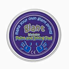 Giant Purple Paint Pad (15cm) - Hand, Palm, Printing, Stamping, Arts & Crafts