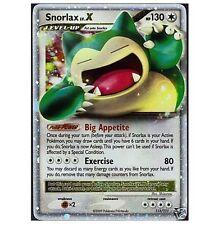 SNORLAX LV.X LVX 111/111 Ultra Rare Star Holo Foil Pokemon Card