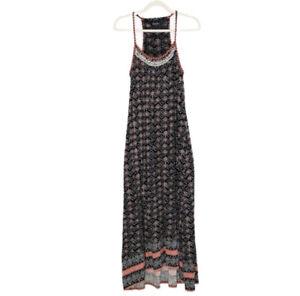 Lucky Brand Maxi Dress Womens Size Medium Boho Sleeveless