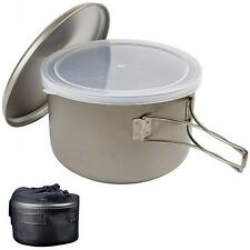 Snow Peak Cook and Save Titanium Pot Kitchen Cooking Camping Outdoor