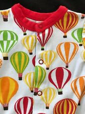 Sweet Peanut Hot Air Balloons Organic Cotton Shortall - 3 Months