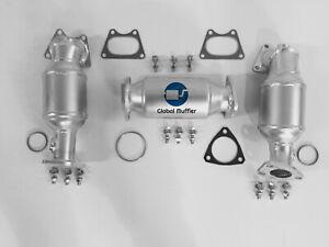 Fits 2003 2004 2005 2006 2007 Honda Accord 3.0L V6 P/S D/S Rear Converters