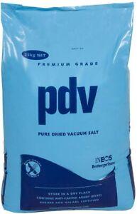 PDV SALT 25KG | FOOD GRADE | Curing Pond Fish Koi Winter Pool Water Treatment