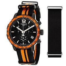 Nylon Band Men's Tissot Quickster Wristwatches