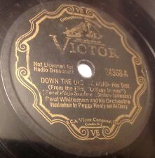 Victor 24368 Isham Jones Orch SHADOWS ON THE SWANEE 78 rpm 1933
