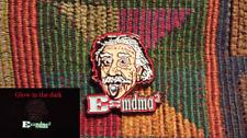 Albert Einstein E=MC2 Inspired MDMA Ecstasy Molly Glow in the Dark Lapel Hat Pin