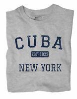 Cuba New York NY T-Shirt EST