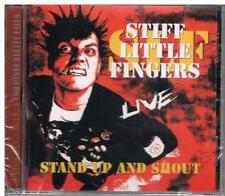 STIFF LITTLE FINGERS - STAND UP AND SHOUT (NEW & SEALED) CD Punk