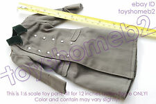 1:6 scale DID D80094 WWII GERMAN WH Infantry Captain Thomas WINTER TOP COAT