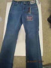 Gloria Vanderbilt Mid Rise Jeans Blue super soft size 4 Petite New w/tags