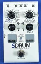 Digitech SDrum Strummable Drums Guitar Drum Machine Effect Effects Pedal