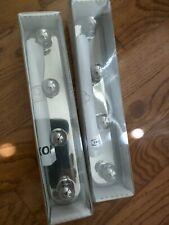 New Ikea Voxnan Chrome Towel Rack 4 Knobs (Two Sets)