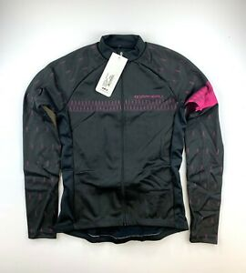 Louis Garneau Women's Equipe Long Sleeve Size Medium Black Pink Jersey New