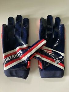 New England Patriots Under Armour Team Issued Football Gloves UA Receiver Gloves