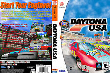 Daytona USA CUSTOM DREAMCAST CASE (NO GAME)