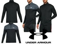 Under Armour Sportstyle Pique Jacket Black & Grey