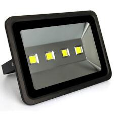 200W COB LED Flood Light Lamp for Outdoor Garden Yard Cold White 110V 220V Black
