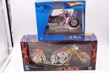 NEW RAY 1/12 1:18 CUSTOM BIKES MOTORCYCLE hot wheels psycholoco moto lot set