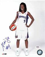 Hamchetou Maiga Signed 8x10 photo WNBA PSA/DNA Autographed Monarchs