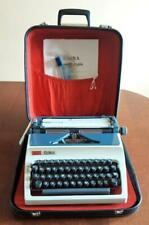 Typewriter DARO ERIKA Model 42 Hard Case + TOOLS Working Vintage QWERTY Keyboard
