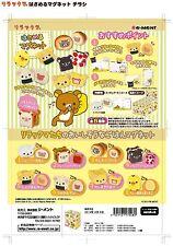 Re-Ment Rilakkuma Hasameru magnet 8pcs Complete Set (0480)