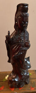 Chinese Carved Kwan-Yin Quan-14@