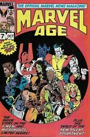 Marvel Age Comic 7 Bronze Age First Print 1983 Official News Magazine Bronze Age