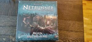 Reign and Reverie Android Netrunner LCG Unopened