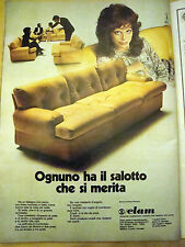 PUBBLICITA' ADVERTISING WERBUNG 1971 POLTRONE ELAM (AB39)
