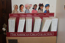 RARE~UNIQUE~AmericanGirl Collection36 books+Cardboard Library-FIRST EDITION~1988