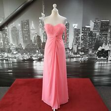 D'Zage Dress (Coral-Size 12) Prom, Ball, Bridesmaid, Cruise, RRP £200+