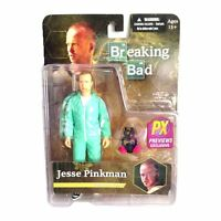 Jesse Pinkman in Blue Hazmat Suit PX Previews Exclusive Breaking Bad Figur Mezco