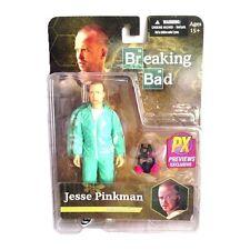 Jesse Pinkman in Blue Hazmat Suit PX Previews Exclusive Breaking Bad Figur Mezco