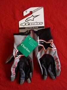 Alpinestars Vector Mountain Bike Gloves Small S Lightweight Red Black Enduro XC
