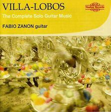 Fabio Zanon, H. Vill - Complete Sologuitar Music [New CD] Jewel Case Packa