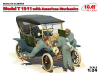 1/24 Assembly kit model Model T 1911 with American mechanics (ICM)