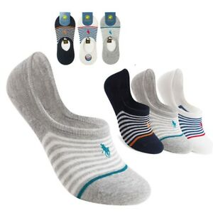 New 6 Pairs Men's Cotton Socks Invisible Liner Trainer No Show Secret Footsies